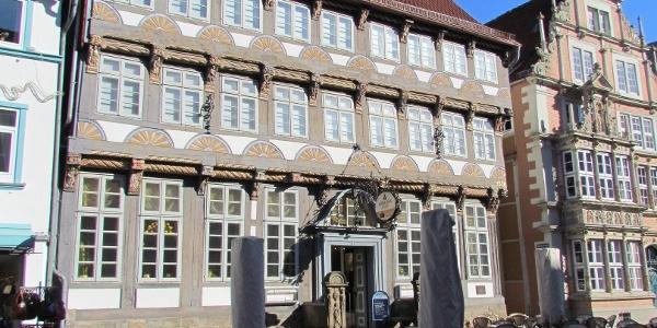 Das Stiftsherrenhaus in Hameln