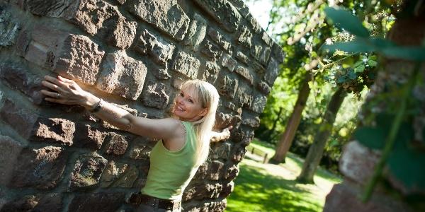 Mächtige Mauern schützen das historische Höxter