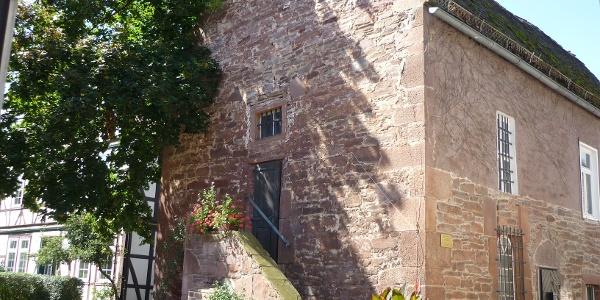 St. Gertrudis-Kapelle Eingang