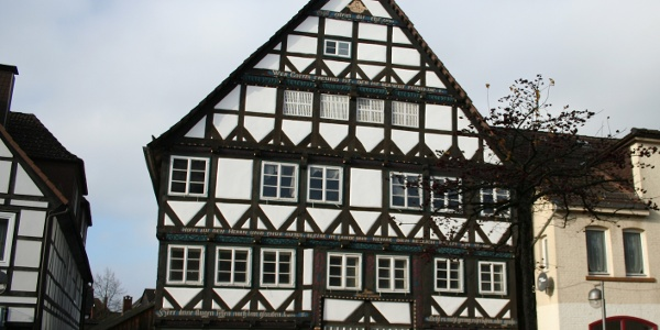 Das Severinsche Haus in Holzminden: Regionstypische Fachwerkbauweise