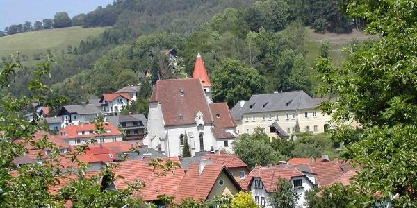 Marktgemeinde Edlitz: Ortsansicht von Plaudermarkt
