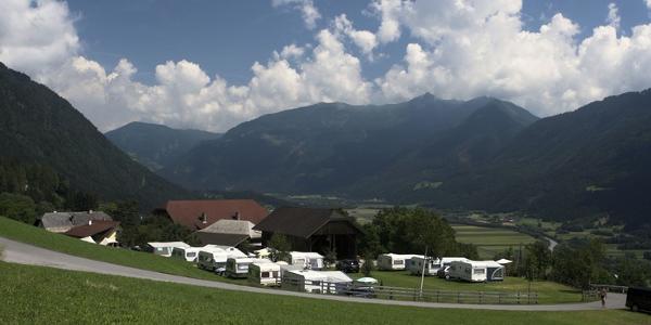 Camping am Bauernhof - Bergfriede