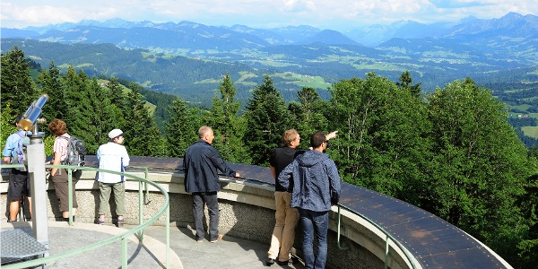 Panorama platform on the Pfänder