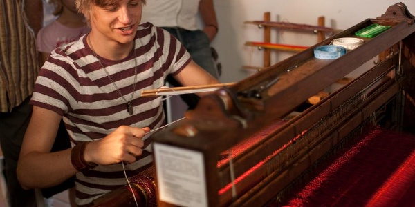 Textilschauwerkstatt im Unteren Schloss Greiz