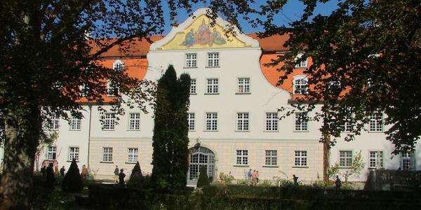Das Schloss Lautrach.