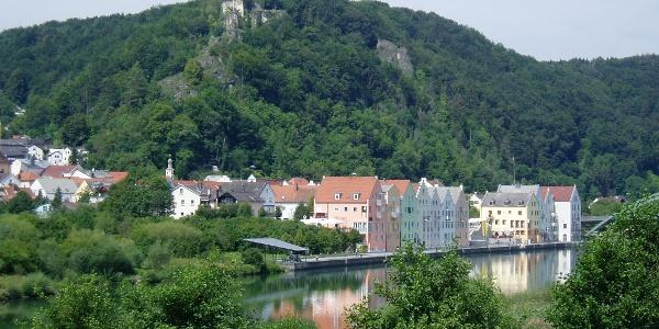 Stadt Riedenburg im Altmühltal.