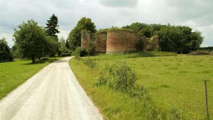 Der Weg zum Kloster.