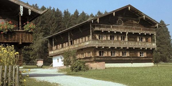 Heilmeierhof im Bauernhofmuseum Massing