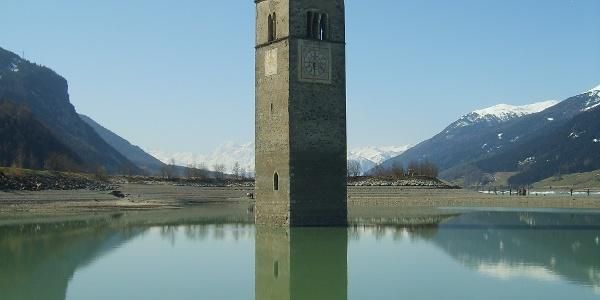 Blick auf den Grauner Turm.