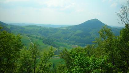 Blick auf den Stuifen (vom Hornberg aus).