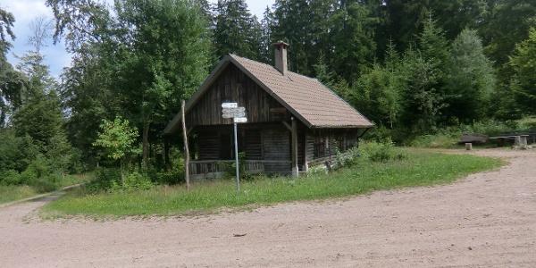 Hütte auf der Salzlecke