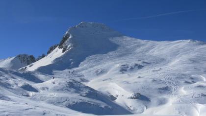 Schwarzkopf von der Bergstation