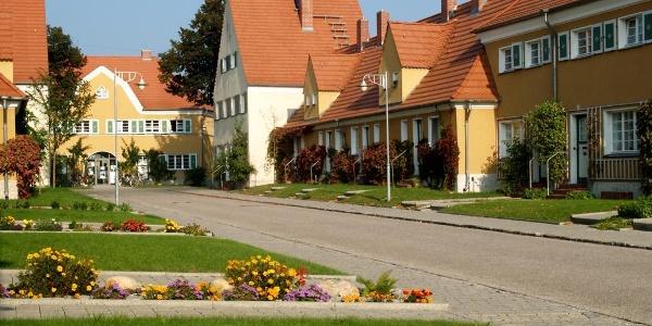 Pisteritzer Werkssiedling in Lutherstadt Wittenberg