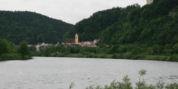 Altmühl bei Riedenburg.