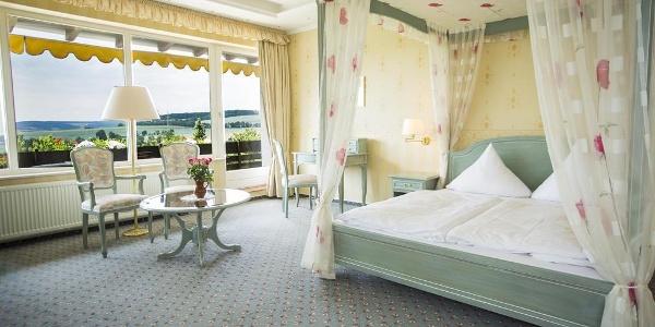 Private Spa Suite Schlafzimmer