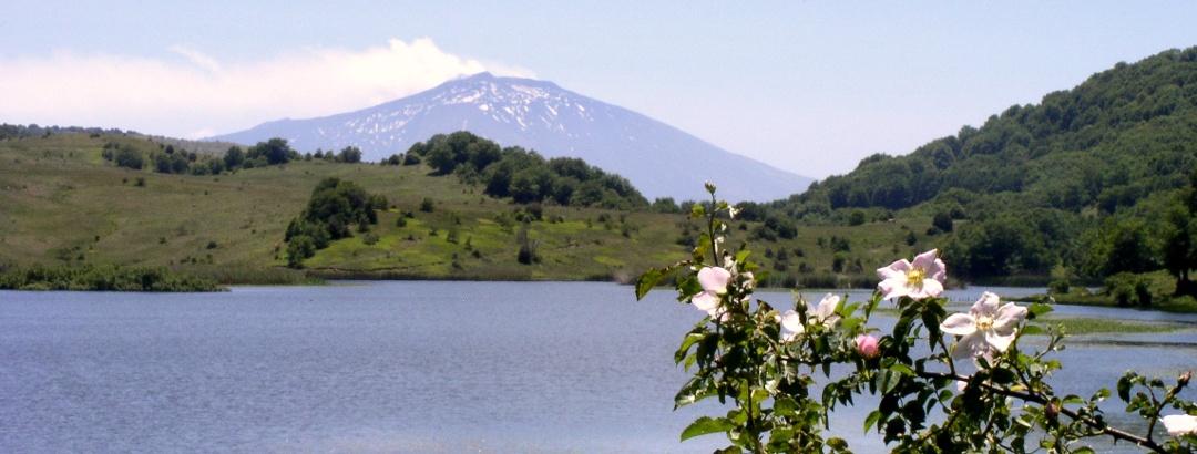 Lago Biviere 1278m mit Ätna