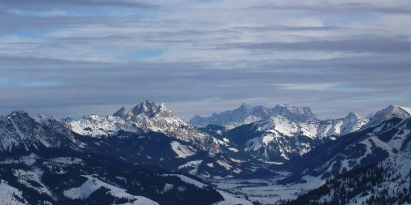 Blick auf die Tannheimer Berge