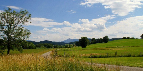 Alpenpanorama inklusive - auf der Gagast-Runde in Habach