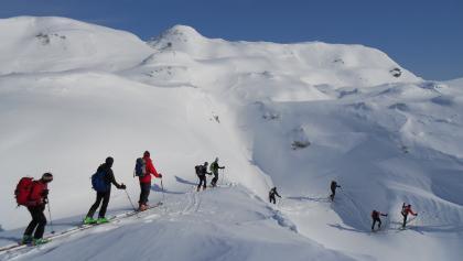 typisch für das Tennegebirge: wellige Hochfläche