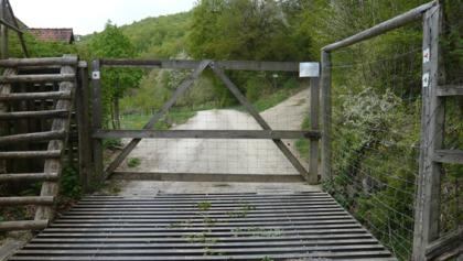 Eingang zum Wildgehege
