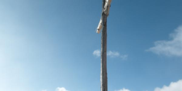 Gipfelkreuz auf der Rotwand (2818 m)