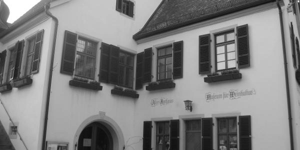 Unsere Tour beginnt am Historischen Rathaus mit dem Museum für Weinkultur.