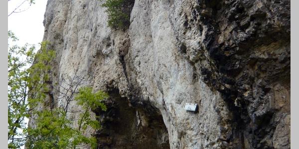 Die Felsen des Rosensteins sind bei Kletterern beliebt.