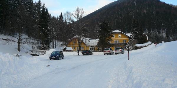 Parkplatz in Gries