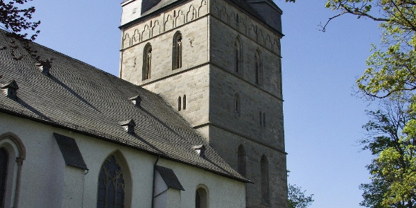 Die Probsteikirche in Brilon.