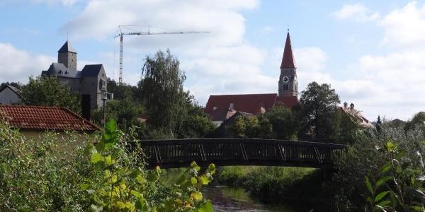 Blick zurück nach Falkenberg