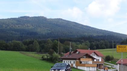 Blick von Wühnried auf den Einödriegel