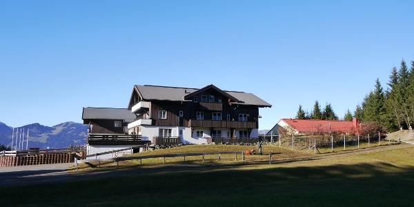 Alpine hotel Sonnenklause next to Hinang