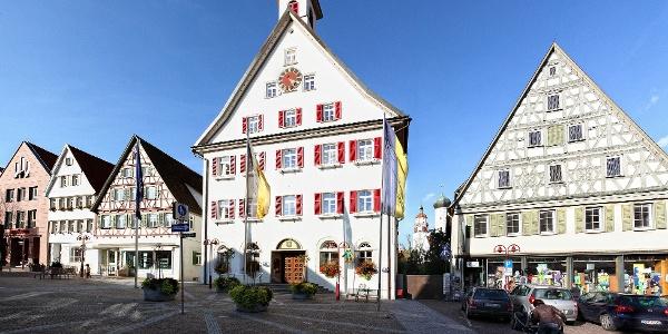 Marktstraße in Giengen