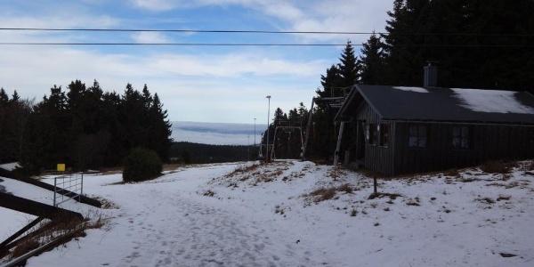 Skiliftstation am Pröller