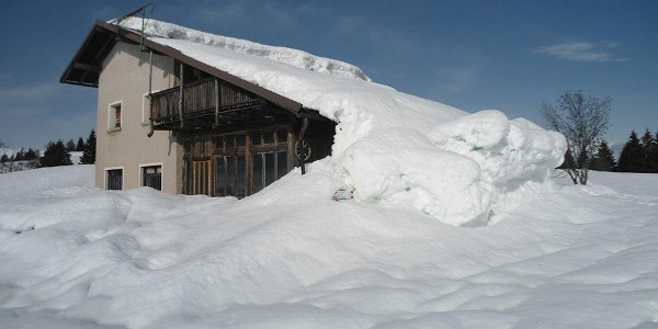 Malga Stabio in inverno