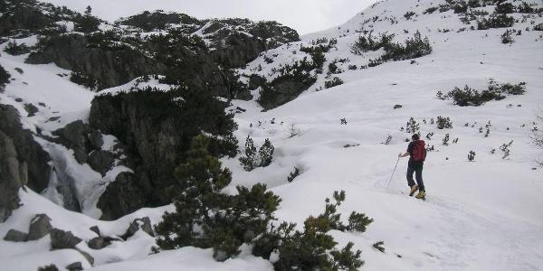 Hüttenanstieg