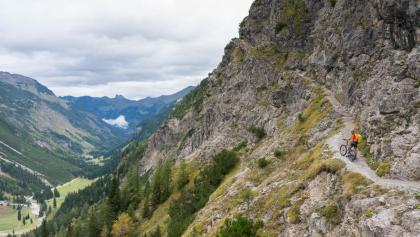 Am Schrofenpass nach Oberstdorf