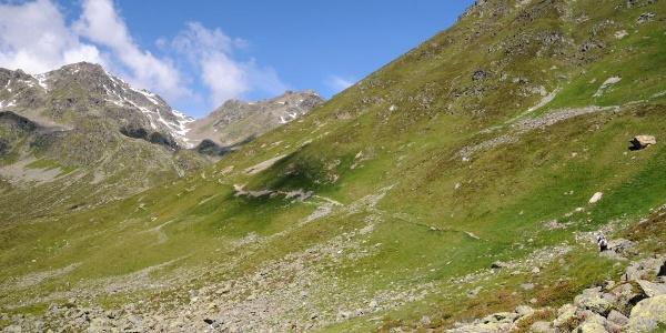 Weg zum Furglersee