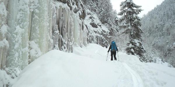 Winterzustieg über die Röthelbachstraße
