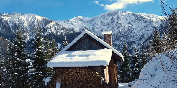 Hütte ~865m