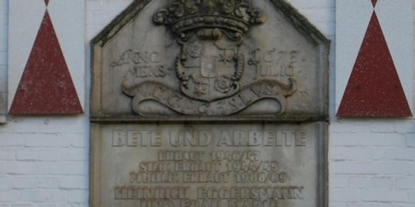 Wappenstein Schlingmühle Buchholz