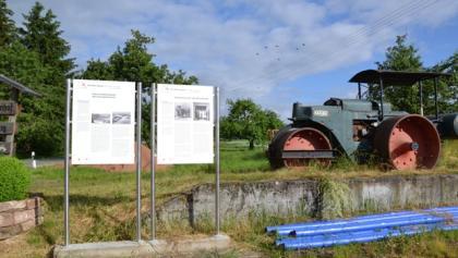 Infotafeln am Schlempertshof
