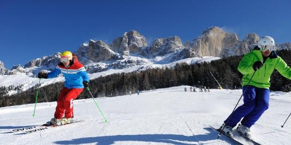 Skifahren in Carezza
