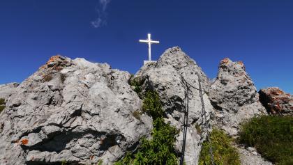Gipfel des Monte Grona