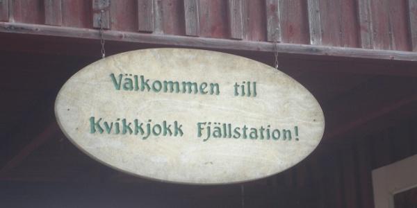 Mountain station Kvikkjokk