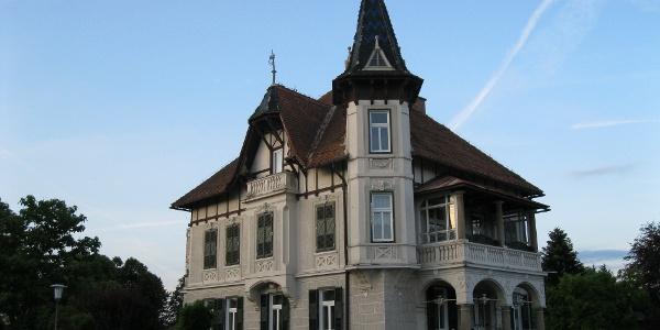 Mureck, eine Villa an der Bahnhofstraße