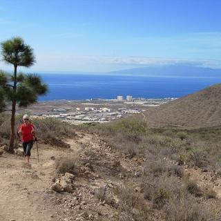 Blick zur Nachbarinsel La Gomera