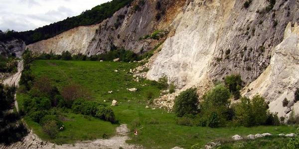 Dolomitensteinbruch