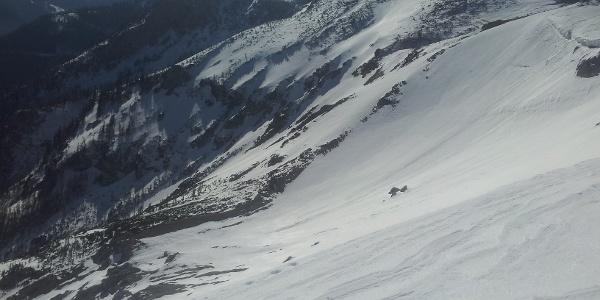 Richtung Schneealpenhaus