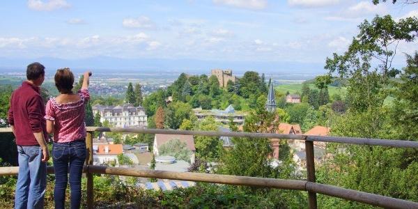 Blick auf Badenweiler